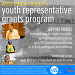 Youth Representative Grants Program